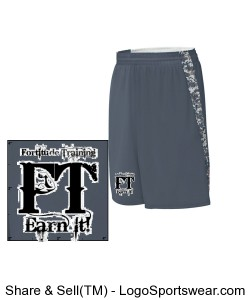 Adult Hook Shot ReversibleShort Design Zoom